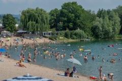 Sommer am nahen  Badesee in Bensheim - Bild: Thomas Neu