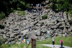 Lautertal mit dem berühmten Felsenmeer