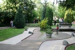 Sehr schöne Minigolf-Amlage in Auerbach (5 Min.)