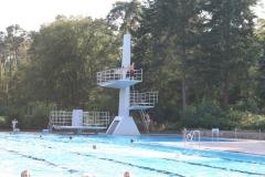 Schwimmvergnügen im Waldschwimmbad im Nachbarort Lorsch (10 Autominuten)