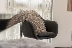 ...mit gemütlichen Lounge-Sesseln.