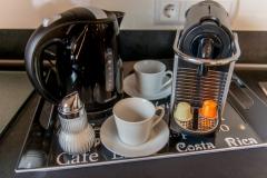 Mit Wasserkocher, Toaster und Nespresso-Automat gratis