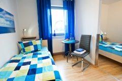 Schlafbereich mit 2 getrennten Zimmern...