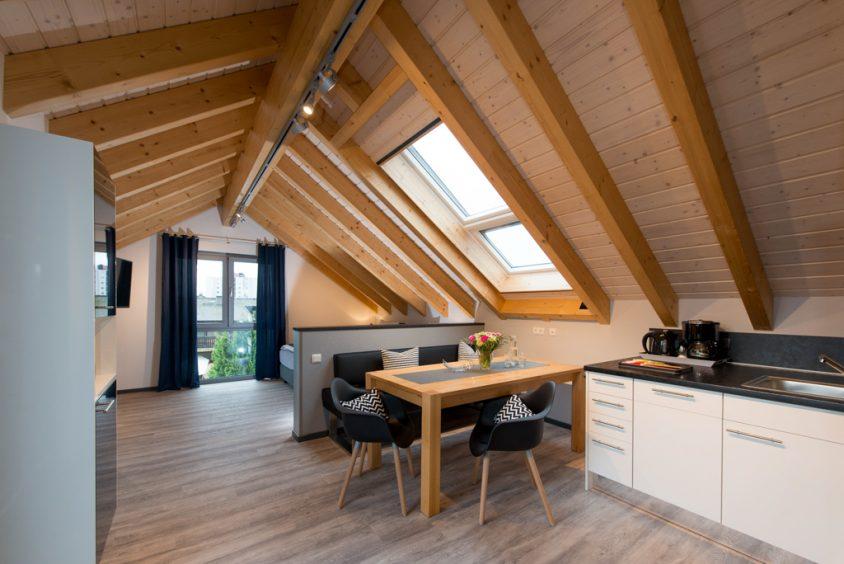 Ferienwohnung Dach-Loft - mit Dachterrasse (Premium-Kategorie)