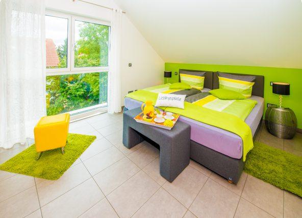 Ferienwohnung Soleil - mit Dachbalkon im Stammhaus (Premium-Kategorie)