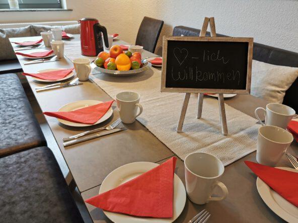 Gruppen-Unterkunft bei Familie Horster in Bensheim
