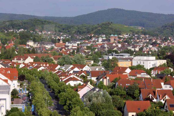 Zentrale Lage direkt in Bensheim
