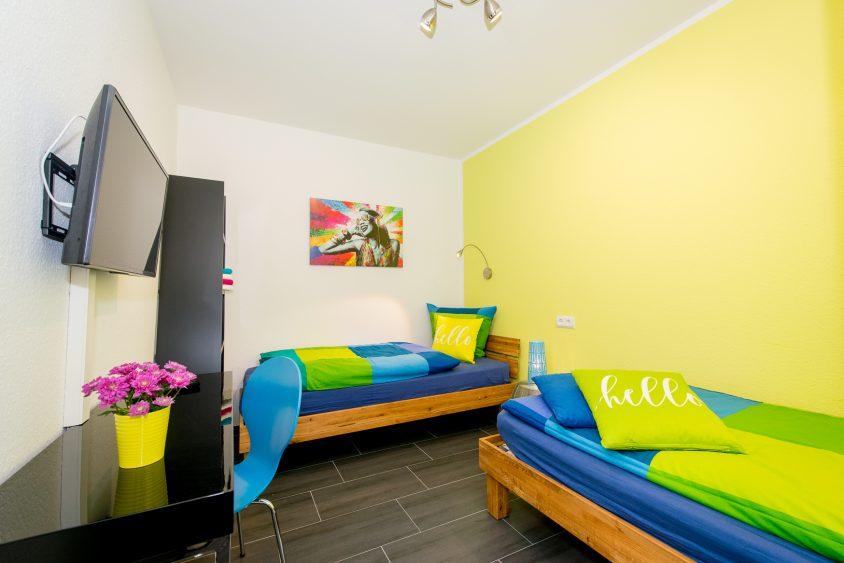 Gästezimmer mit Gemeinschaftsbädern (Wohnung 4)