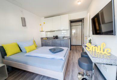 Apartment Business - Erdgeschoss mit eigener Terrasse (siehe Angebote zur Langzeitmiete)