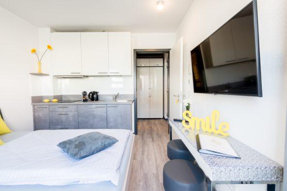 1-Personen-Apartment ab 60 €