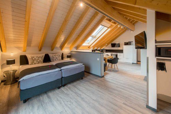 Möblierte Wohnung auf Zeit - Apartment Dach-Loft bei Horster Bensheim/Bergstraße