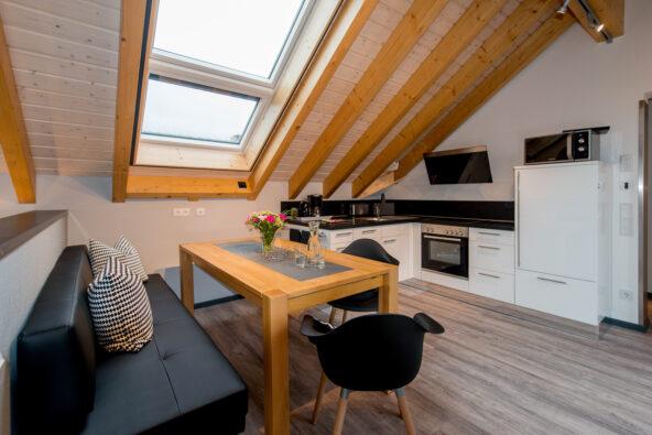 Möbliertes wohnen auf zeit - voll ausgestattete hochwertige Küche nähe Mannheim