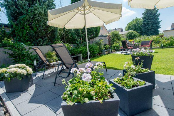 Ferienwohnung Langzeit - Wohnungen & Apartments mit Garten bei Mannheim