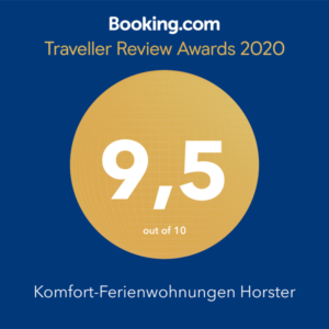 Booking.com Award für 2020 #morethananumber #bookingcom