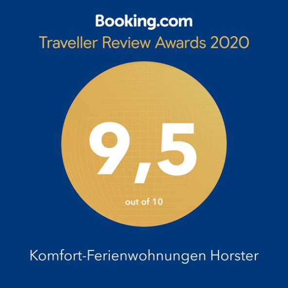 Booking.com Award für 2020 #morethananumber #bookingcom