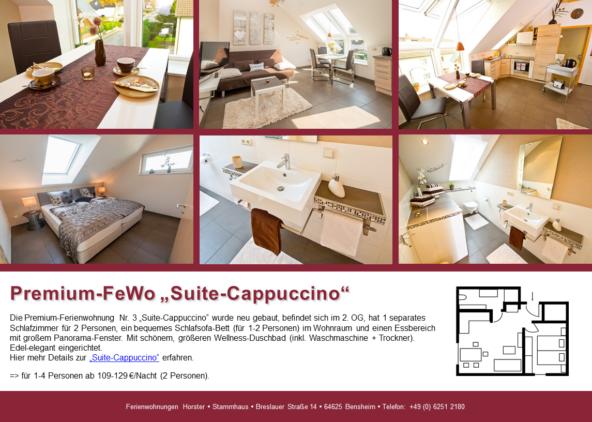 "Premium-Ferienwohnung ""Suite-Cappuccino"" im Stammhaus"