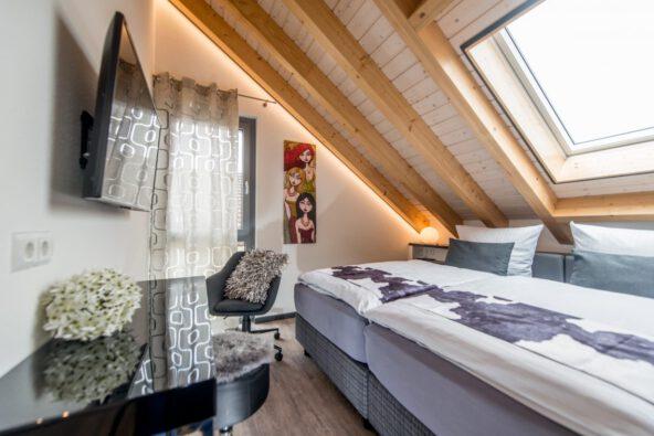 Boarding House Bensheim - Wohnung Ambiente