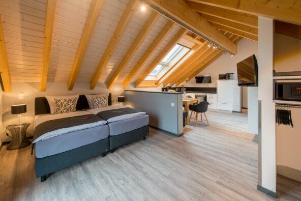 """Premium-Ferienwohnung """"Dach-Loft"""" bei Heppenheim"""